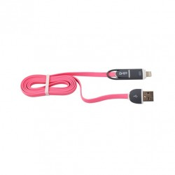 Cable 2 En 1 Micro Usb/Tipo...