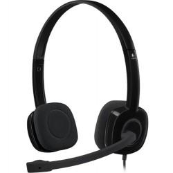 Logitech H150 Stereo Headset Auriculares Diadema Conector de 3.5 mm Negro