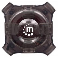 Manhattan 162272 nodo concentrador 12 Mbit s Negro, Transparente