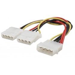 Manhattan 301503 cable de alimentación interna 0.2 m