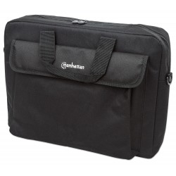 "Manhattan London maletín para laptop 39.6 cm (15.6"") Negro"