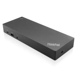 Lenovo ThinkPad Hybrid USB-C with USB-A Dock Alámbrico USB 3.2 Gen 2 (3.1 Gen 2) Type-C Negro