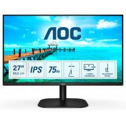 "AOC 27B2H monitor de computadora 68.6 cm (27"") 1920 x 1080 Pixeles Full HD LED Negro"